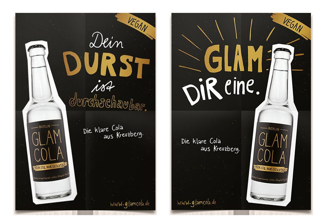 Glam_Cola-Plakate